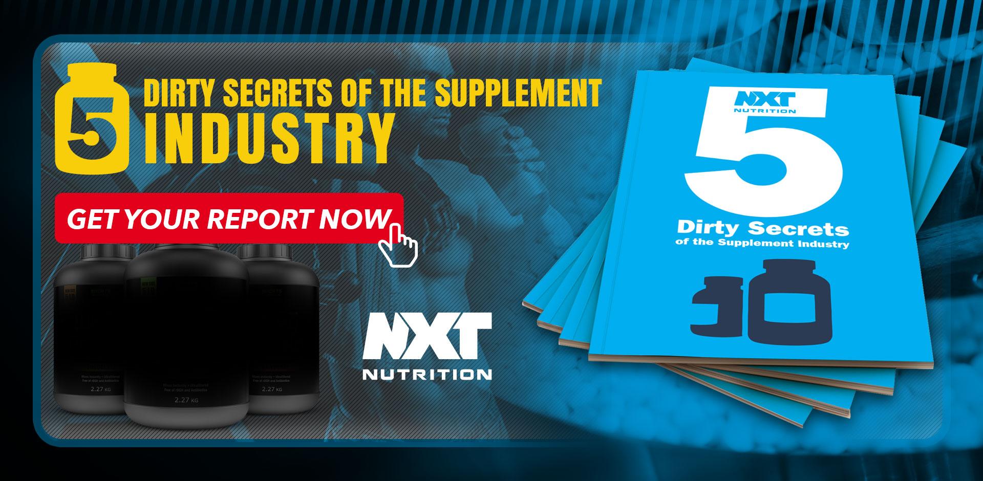 5 Dirty Supplement Secrets